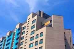 Modern apartment facade Stock Photo