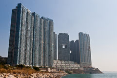 Modern Apartment in Hong Kong Stock Image