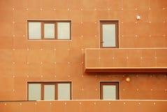 Modern apartment house. 's facade Stock Photography
