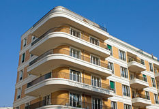 Modern apartment house Stock Images