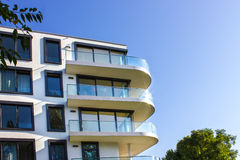 Modern apartment house Royalty Free Stock Images