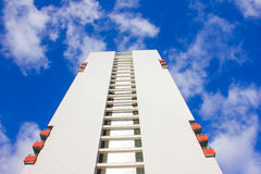 Modern apartment house Royalty Free Stock Image