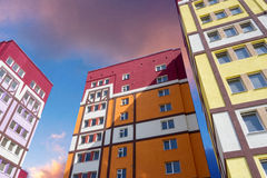 Modern apartment house Stock Photography