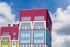 Modern apartment house Stock Photos