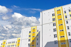 Modern apartment house Royalty Free Stock Photos
