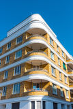 Modern apartment houses in Berlin Royalty Free Stock Images