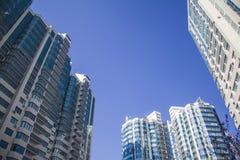 Modern apartment houses Stock Image