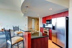 Modern apartment interior. Royalty Free Stock Image