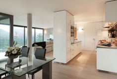 Modern apartment, interior Stock Image