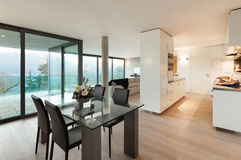 Modern apartment, interior Royalty Free Stock Photography
