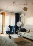 Modern Apartment Interior royalty free stock photography