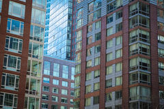 Modern apartment and office buildings Royalty Free Stock Photo