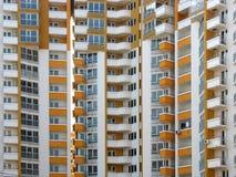 Modern apartment skyscraper house Stock Photography