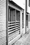 Modern apartment windows Stock Photos