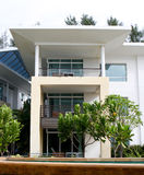 Modern apartments. stock image