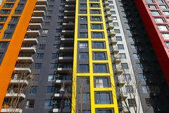 Free Modern Apartments Royalty Free Stock Photography - 24377887