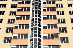 Modern apartments Royalty Free Stock Photos