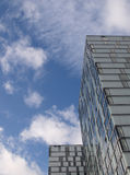 Modern apartments in Almere. A town in the Netherlands Royalty Free Stock Photography