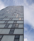 Modern apartments in Almere. A town in the Netherlands Royalty Free Stock Photo