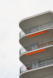 Modern Apartments stock image
