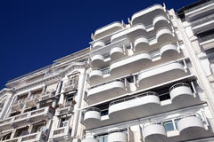 Modern apartments & balconies Royalty Free Stock Images