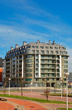 Modern apartments block Royalty Free Stock Image