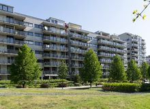 Modern Apartments / Block Of Flats Royalty Free Stock Image