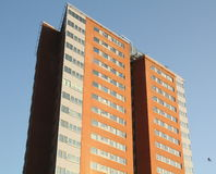 Modern apartments building. Groningen Royalty Free Stock Photography