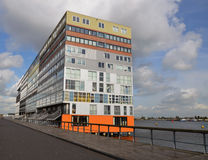 Modern Apartments Building In Amsterdam, Holland Stock Image