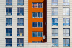 Modern apartments buildings Stock Images