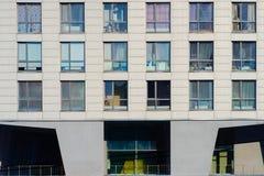 Modern apartments buildings Stock Photos