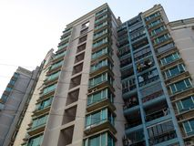 Modern apartments buildings  in Shanghai Royalty Free Stock Photography