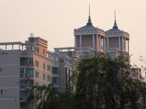 Modern apartments buildings in Shanghai Royalty Free Stock Images