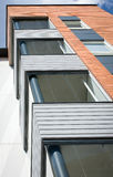 Modern apartments close up Royalty Free Stock Photos