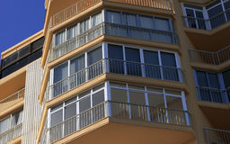 Modern apartments Facade Royalty Free Stock Images
