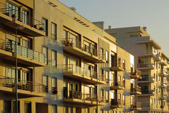 Modern Apartments Stock Photography