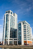 Modern apartments in Liverpool Royalty Free Stock Images