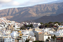 Modern apartments on Los Cristianos Stock Images