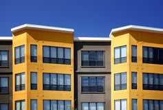 Modern apartments Royalty Free Stock Photography