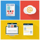 Modern app icon of browser business concept Stock Photo