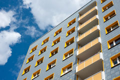 Modern appartment block Royalty Free Stock Photography