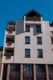 Modern appartment house in Hilden before blue sky in autumn Stock Images