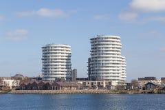 Modern appartments in Copenhagen, Denmark Stock Photo
