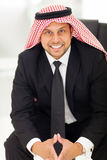 Modern arab businessman Stock Images