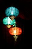 Modern arabic lantern Stock Photo