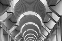 Modern Arched hallway Ceiling Horizontal Stock Photos