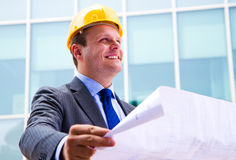Modern architect Stock Image
