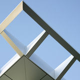 Modern architectural awning Royalty Free Stock Photography