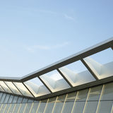 Modern architectural awning Stock Image
