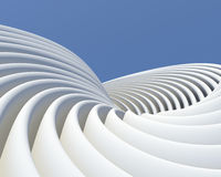 Modern architectural concept Royalty Free Stock Photos